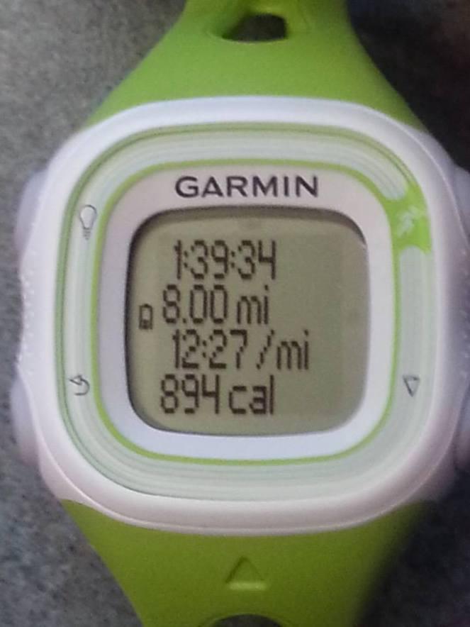 8mile run