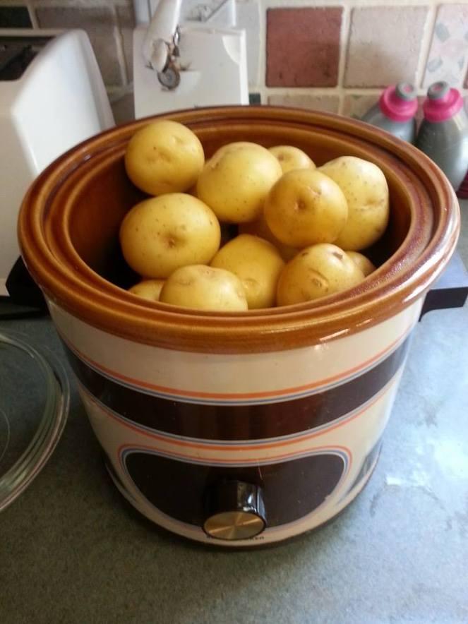 Crockpot taters