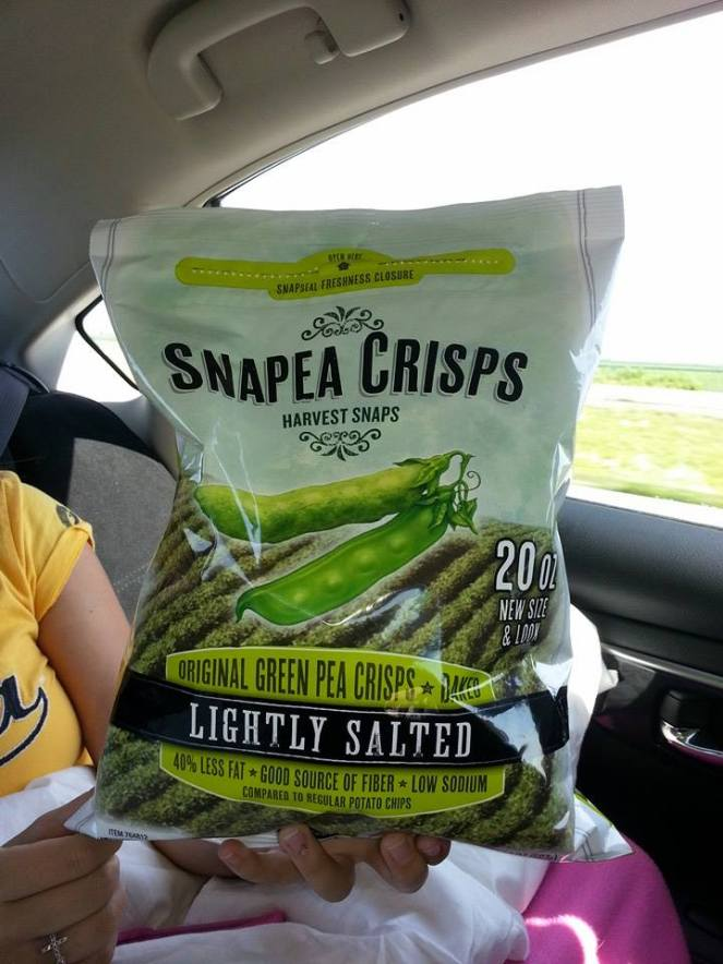 Road trip snack