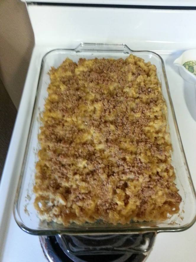 Vegan mac cheese