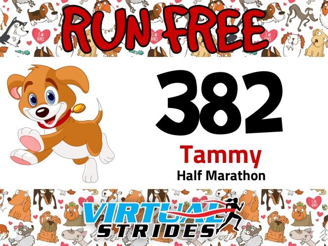 RunFree race bib